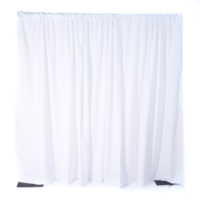 White Pipe & Drape 8′ and 16′ (Per FT)