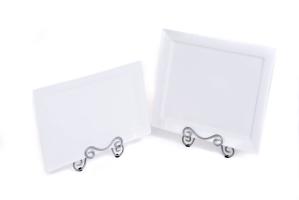 White Platter 17″x11″