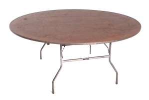 6′ Round Table