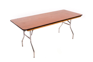 6′ Banquet Table