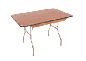 4′ Banquet Table