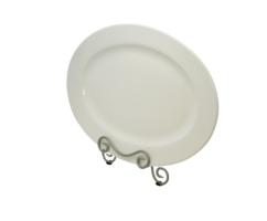 White Oval Platter 18″