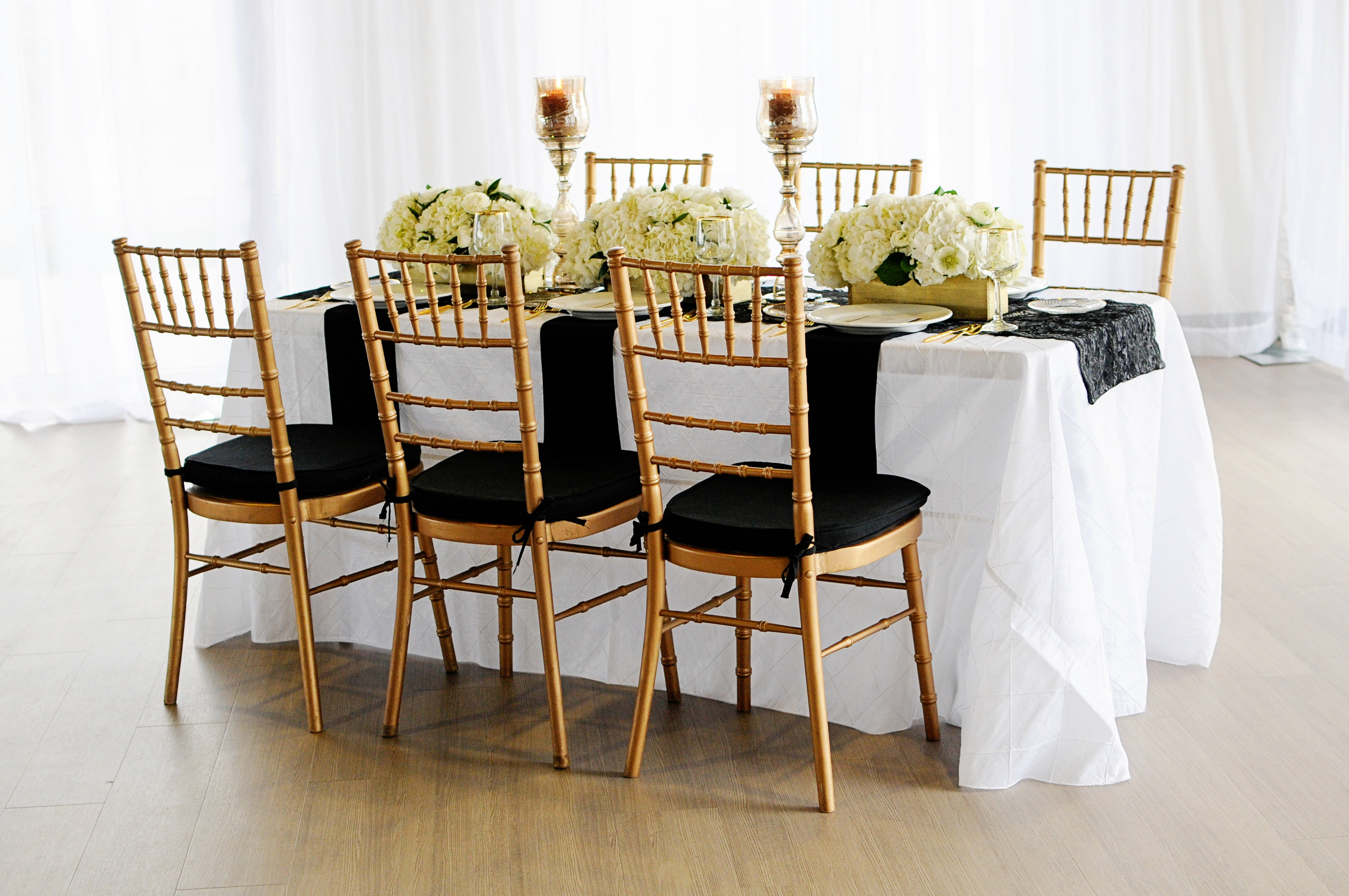 Wedding Chairs and Linens | Flexx Productions - Colorado