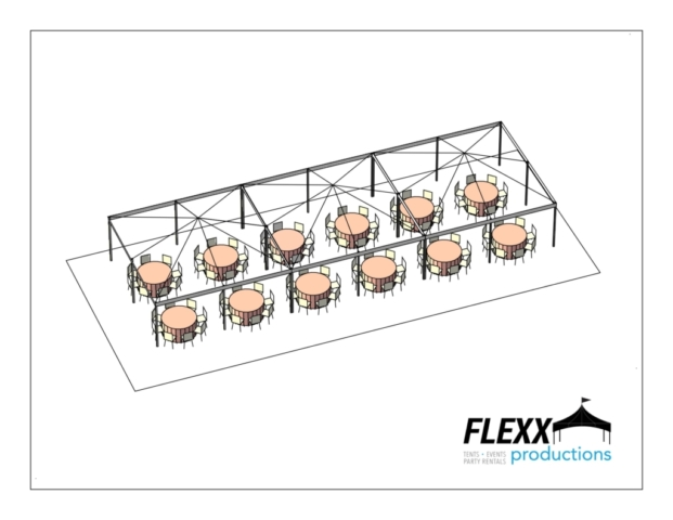 Flexx Productions Frame Tent Layout