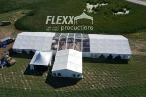 Flexx Productions Clearspan Tent