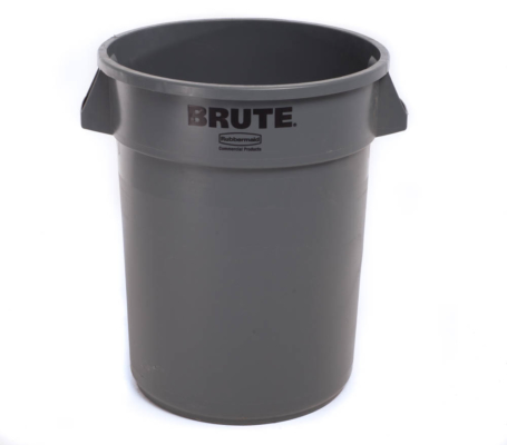 Plastic Trash Can 32 Gallon