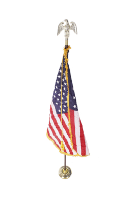 American Flag with Stand