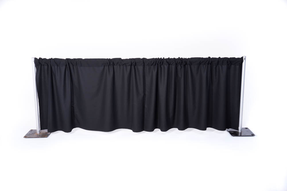 Pipe Drape Divide A Room Cover A Wall