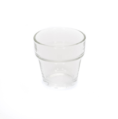 Glass Cup 2 Inchesx4 Inches (4oz)