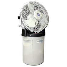 Free Standing Misting Fan 24 Inches