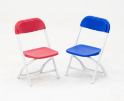 Kid's Plastic Multicolor Chairs