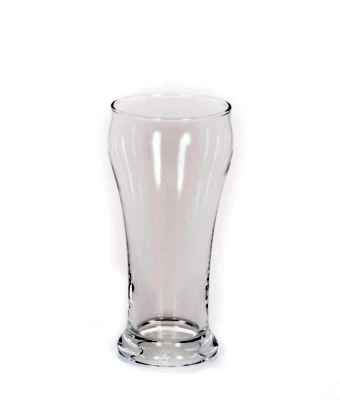 Image of clear classic Pilsner Glass from FLEXX Productions