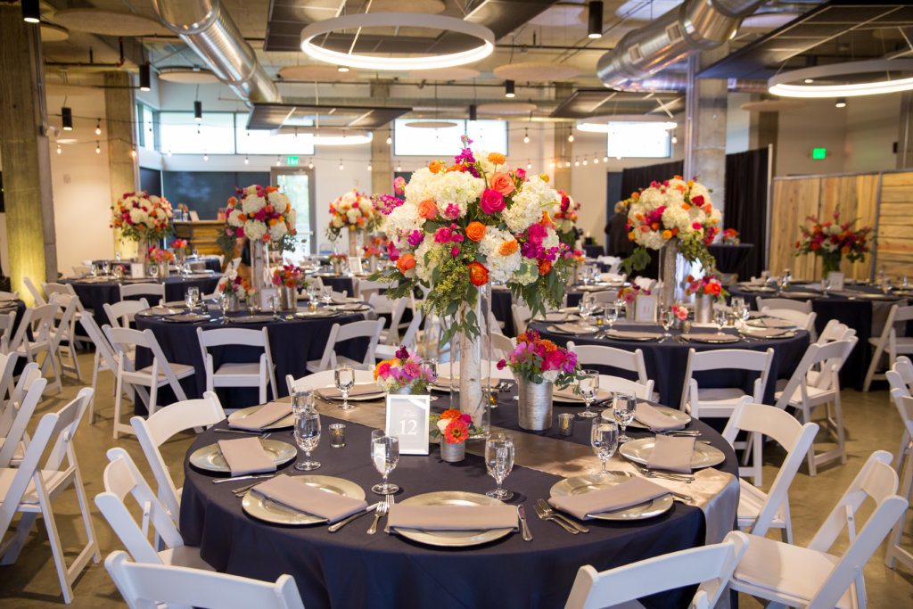2018 wedding decor trends wedding theme color and style inspirtation flexx is a big fan of the way these creative displays add height to a space it also creates more room on your tables to add other fun decor pieces junglespirit Image collections