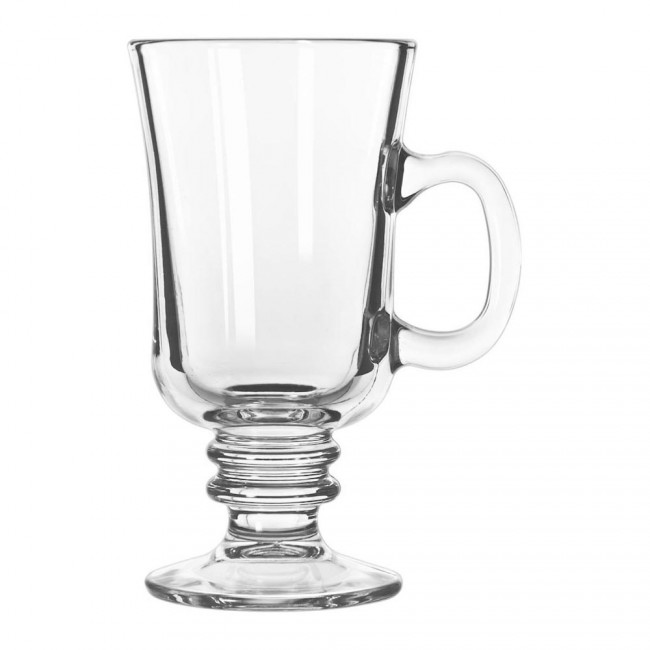 Image of 8.5 ounce clear Irish coffee glass from FLEXX Productions