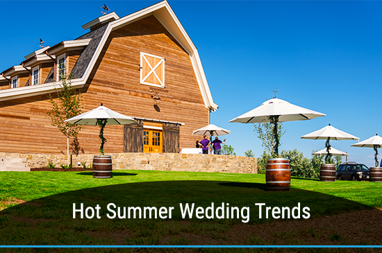 Top 5 Summer Wedding Trends