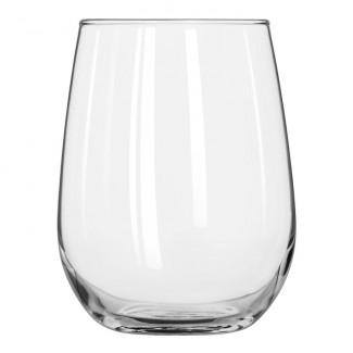 Image of a stemless wine 17 ounce glassware rental from FLEXX Productions